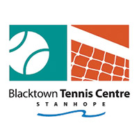 Black Town Tennis Logo